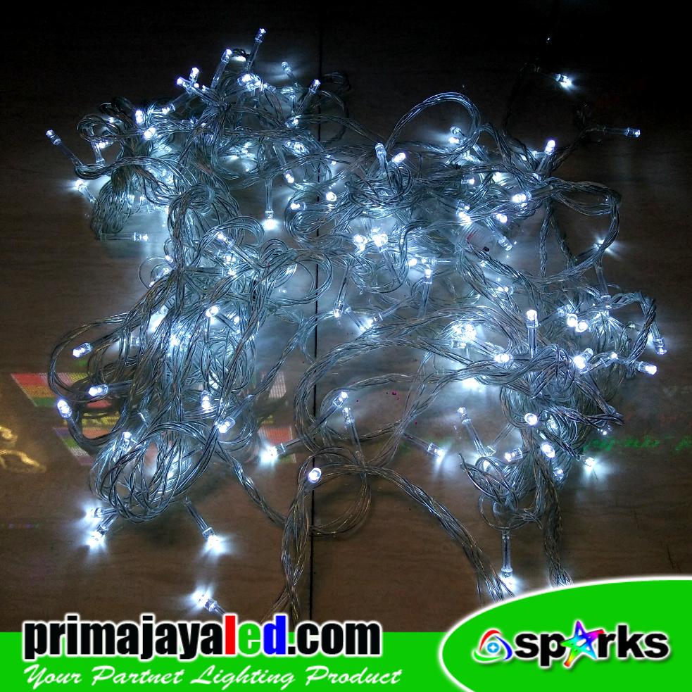 Tumbler LED Natal Putih