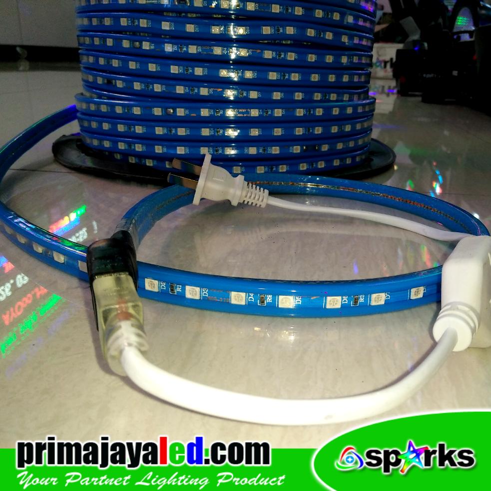 Flexible LED Strip AC 220V Biru