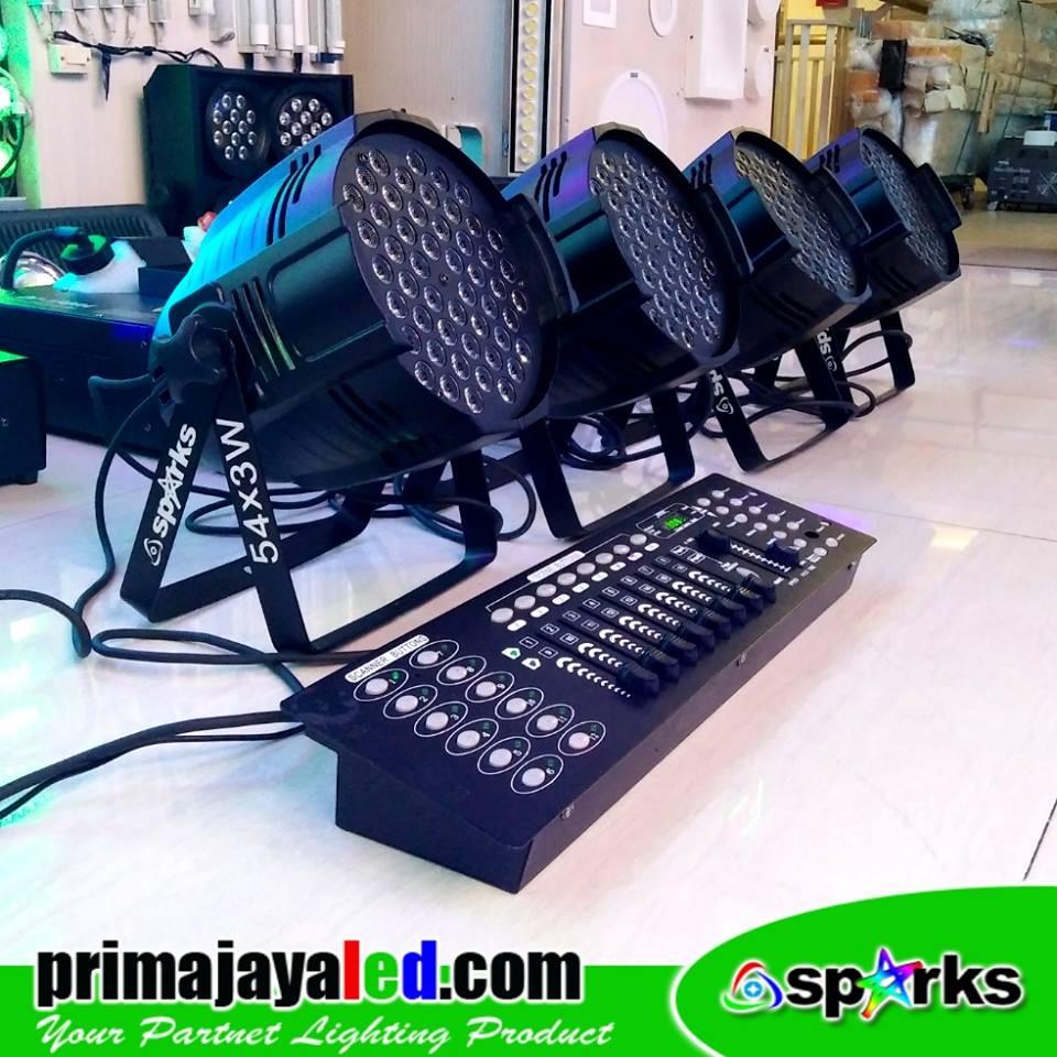 Paket Set 4 Par Freshnel DMX
