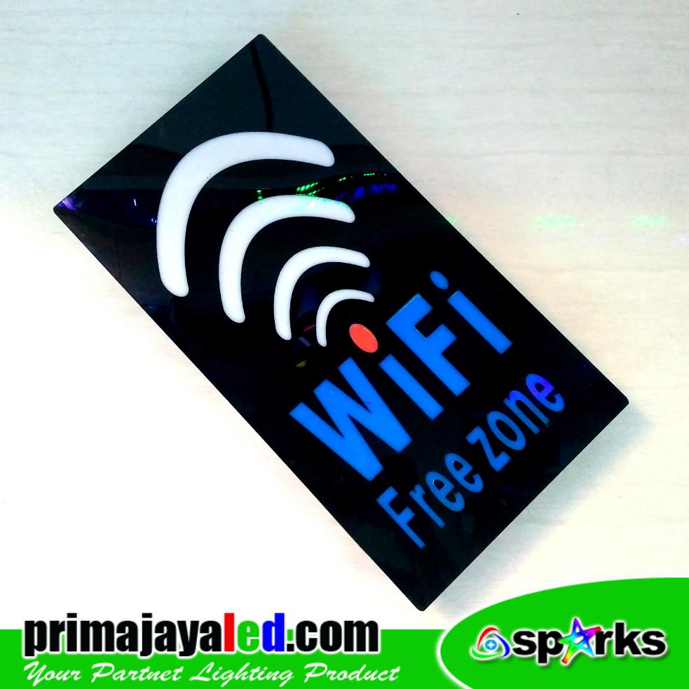 Sign LED Wifi Horizontal