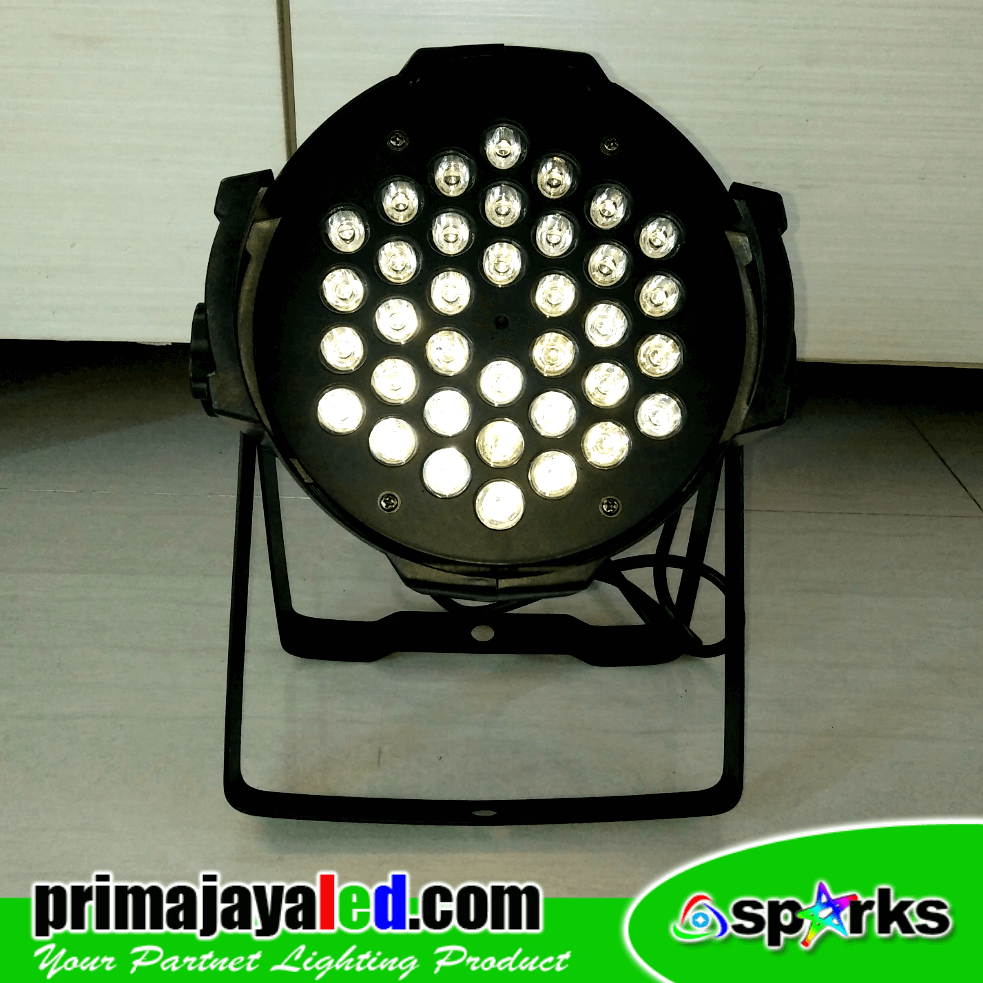 Par 36 LED 3 Watt RGB
