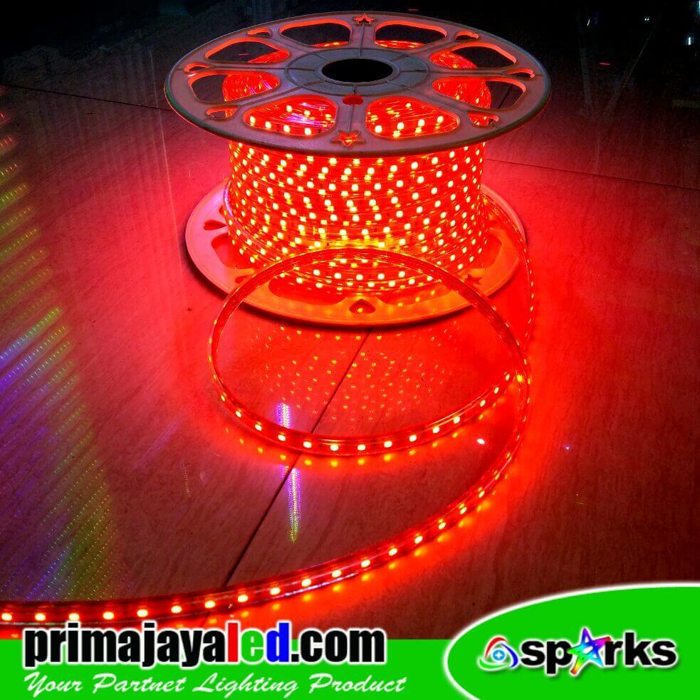 Selang LED 5050 Merah 50 Meter