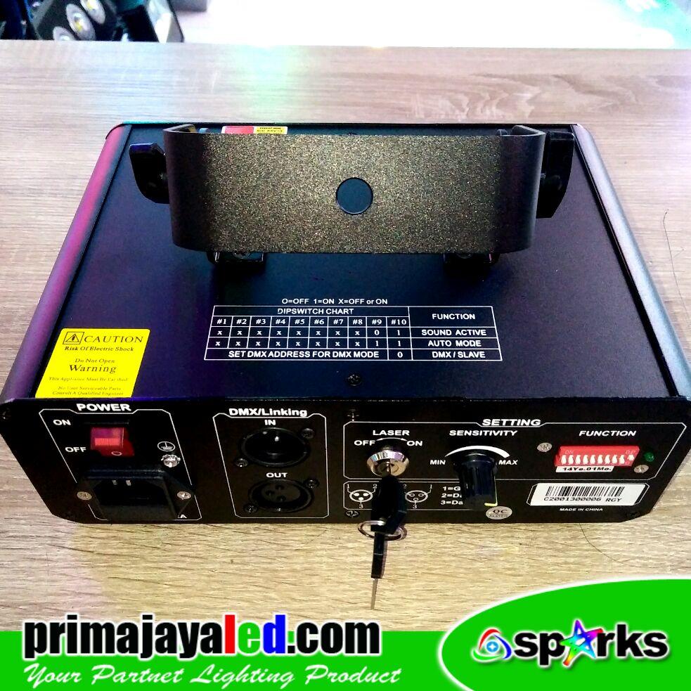 Laser Show Spark C200 RGY