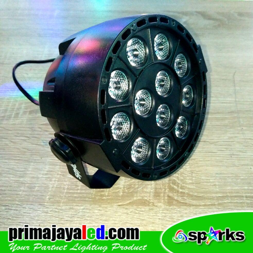 Mini Par LED 12W RGBW