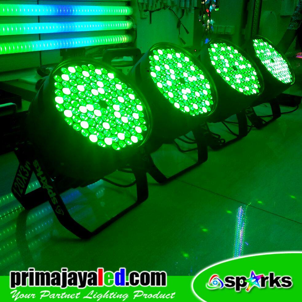Paket Par LED 120 DMX 512