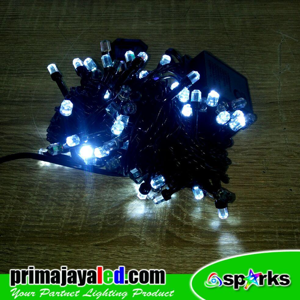 NEW Twinkle LED Natal Putih