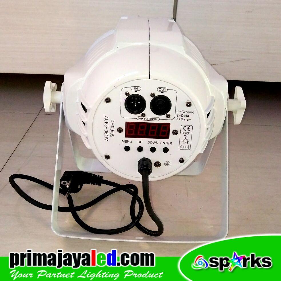 Par LED 54 RGBW Body Putih