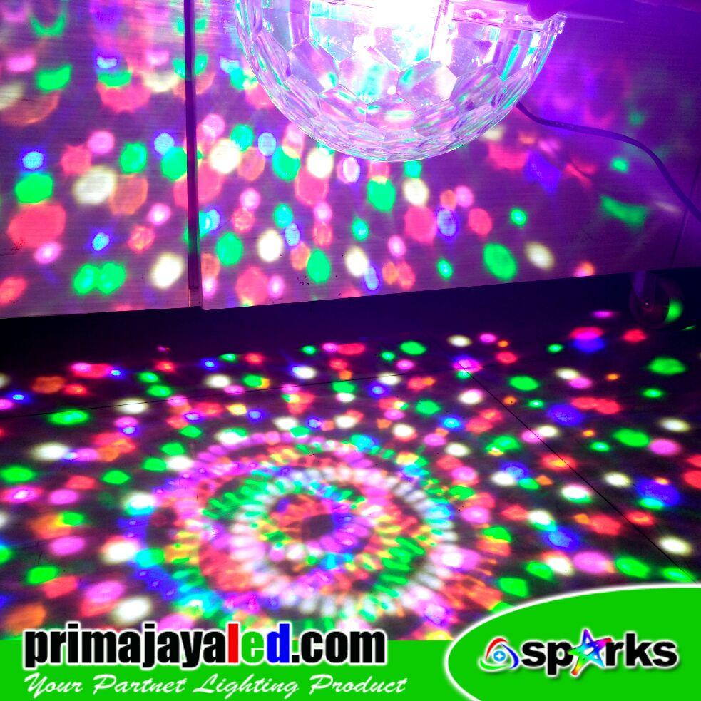 Bola Disco LED Remote 36 Watt • Prima Jaya LED