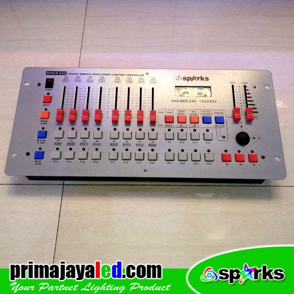 DMX 512 Mixer 240 Disco