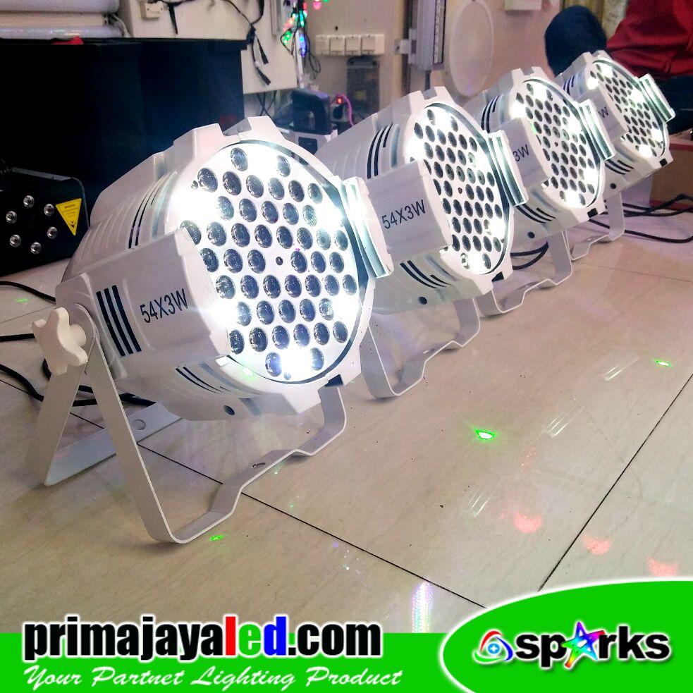 Paket Par LED Medium Body Putih