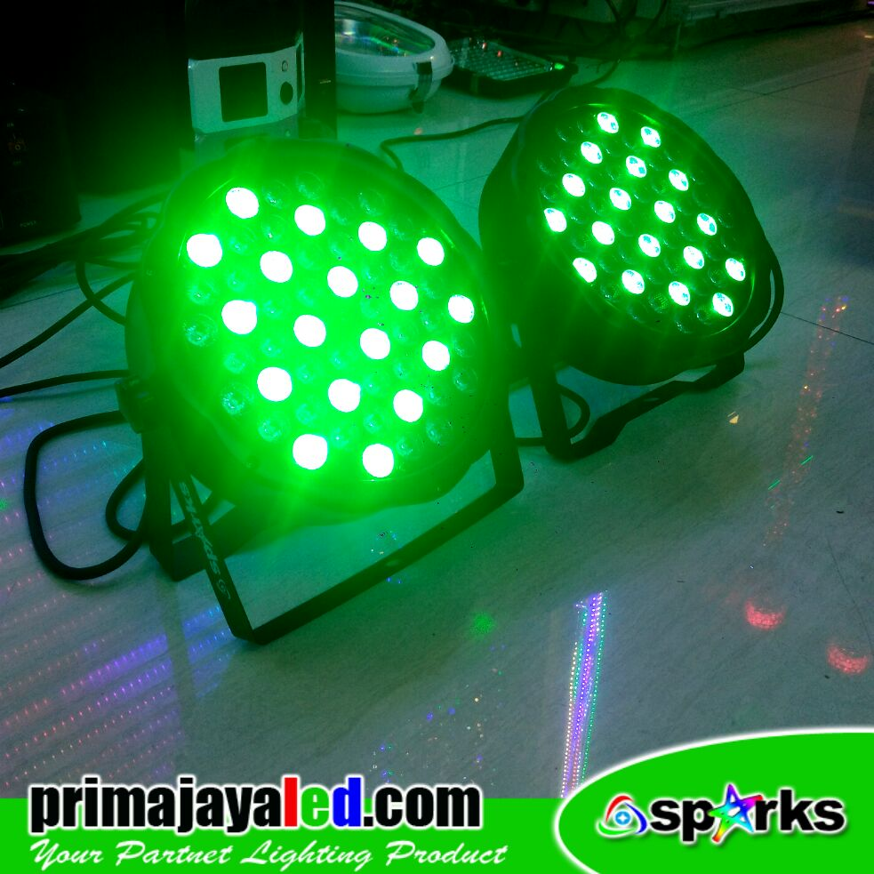 Par LED Slim 54 Watt