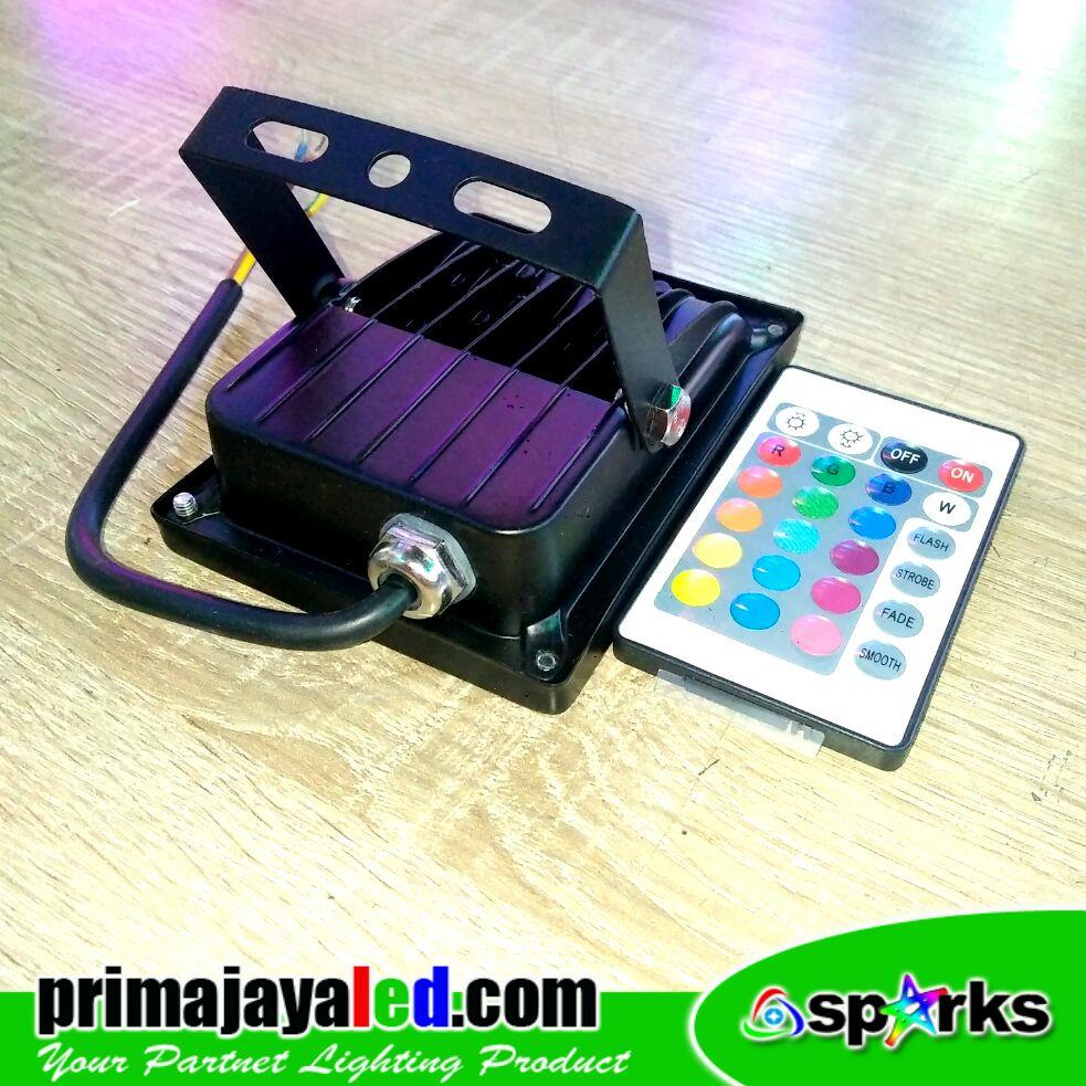LED Spotlight 10W RGB Remote