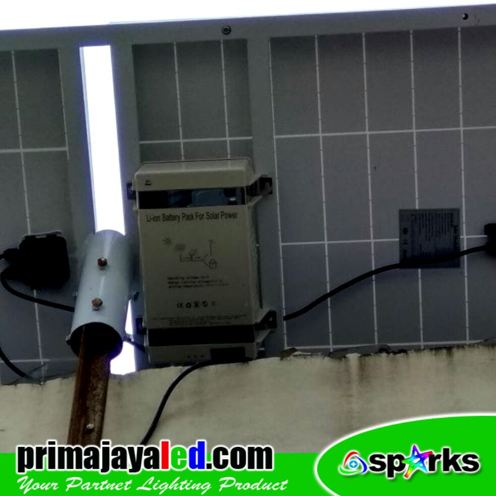 PJU LED Set Solar Panel 50 Watt