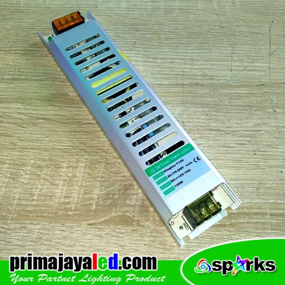 Power Supply 12V 10 Amper Slim