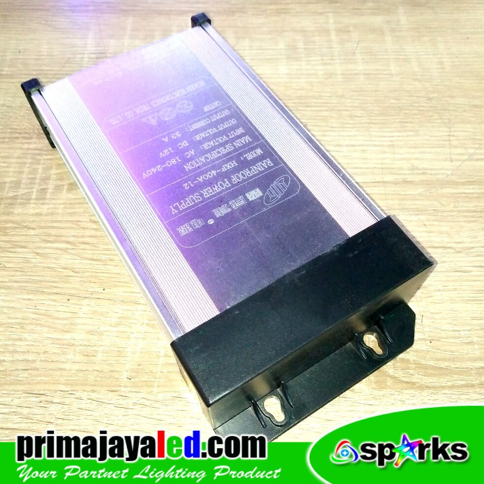 Rainproof Power Supply 12V 33 Amper