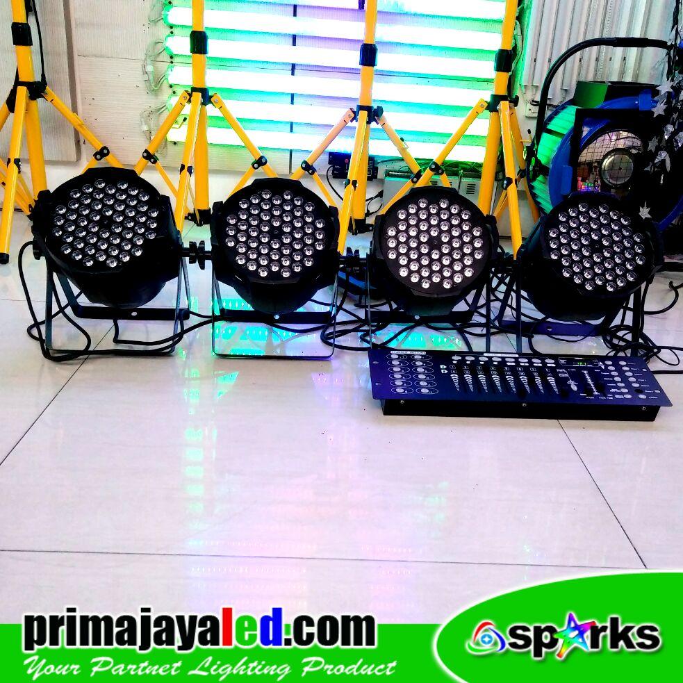 Paket Set Par 54 LED 3in1 DMX 512