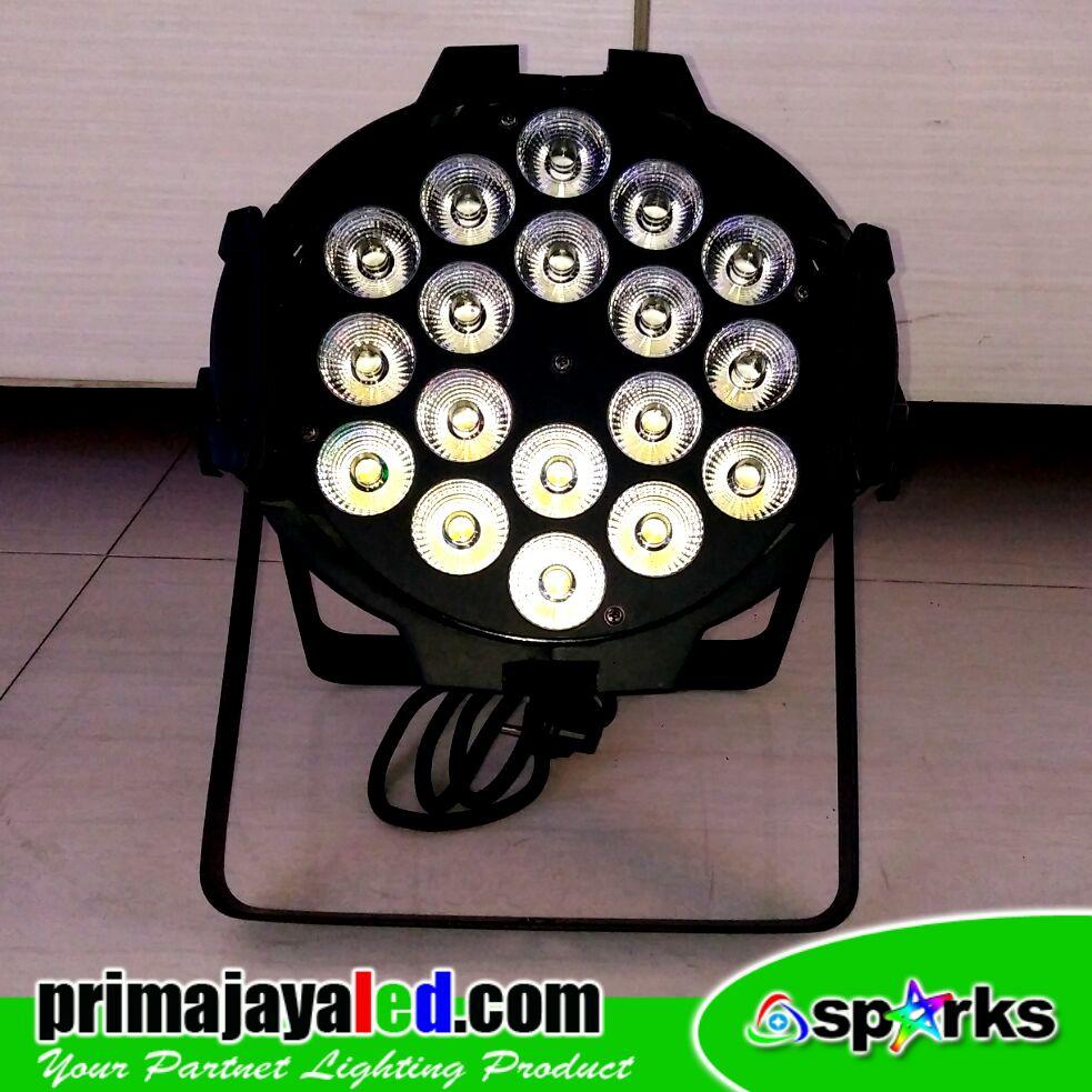 Par LED 18 x 10 W Spesial Warm White