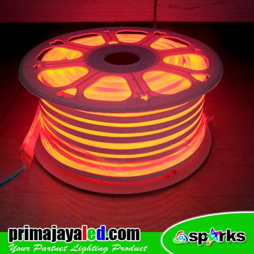 Small Mozaik LED AC 220V Merah