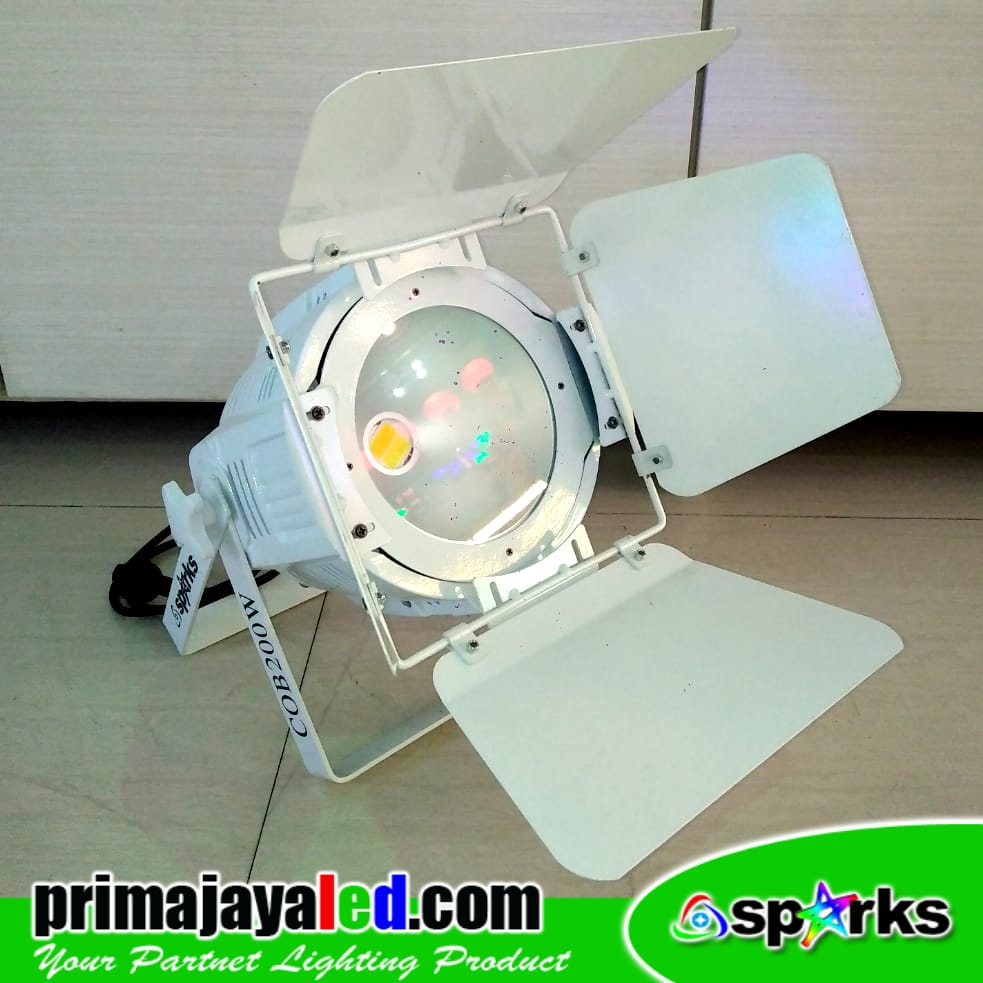 Feshnel LED 200W 3in1 Color Body Putih