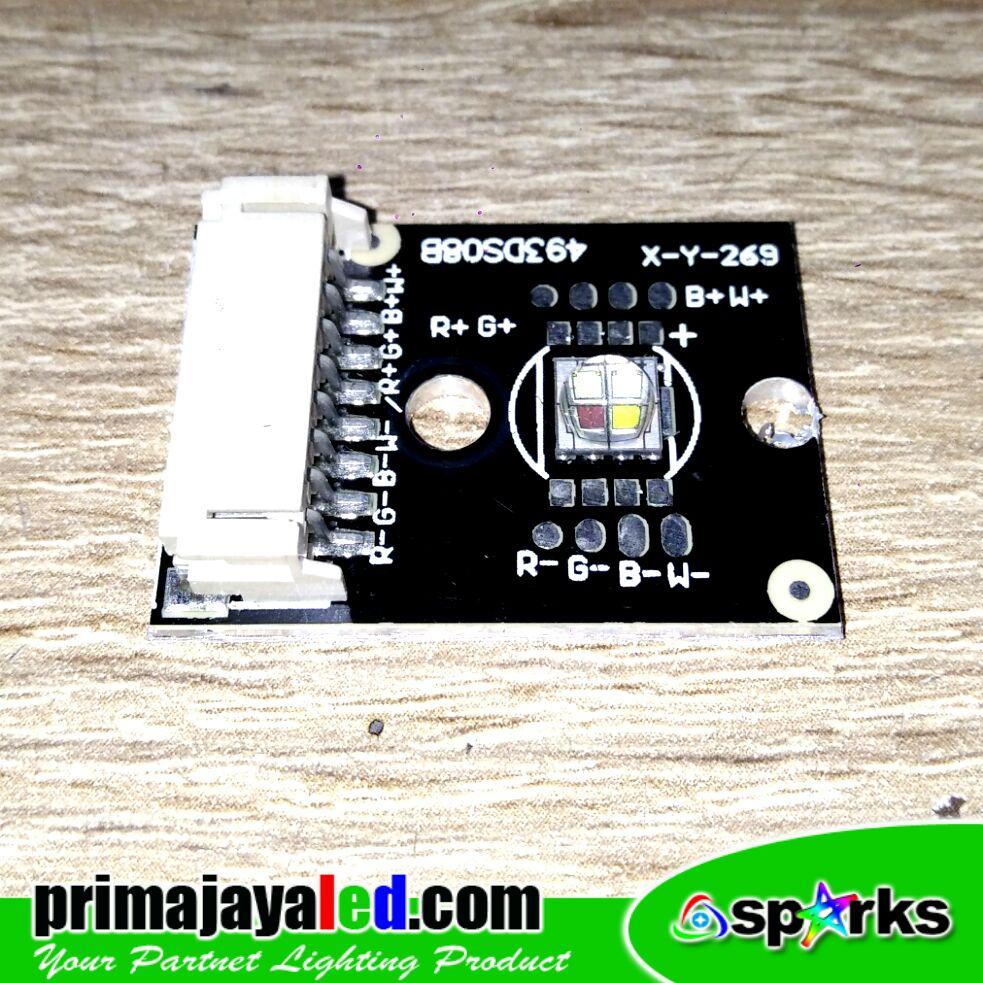 Lampu Moving Head LED 10 Watt