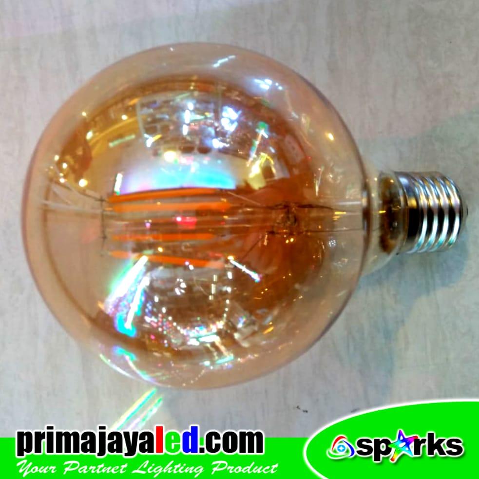 Bohlam LED Filament G95 4 Watt
