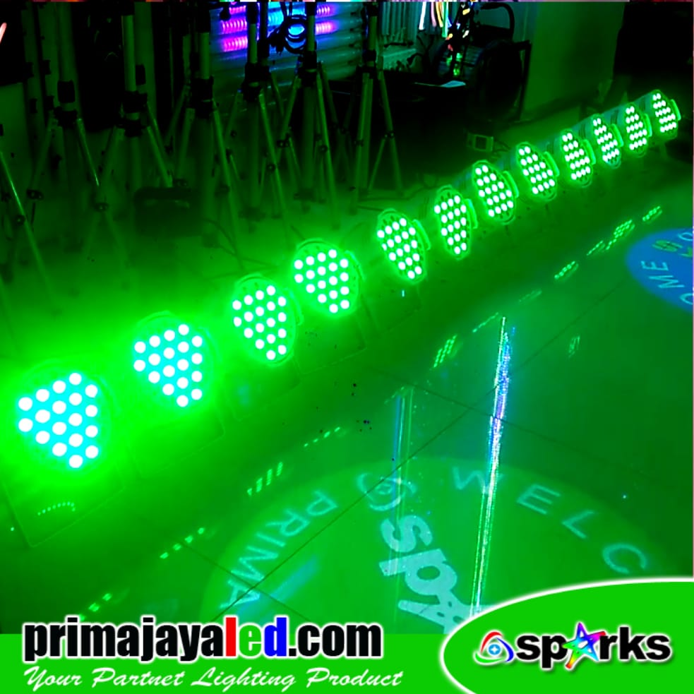 Paket Par 54 Set 13 RGBW White