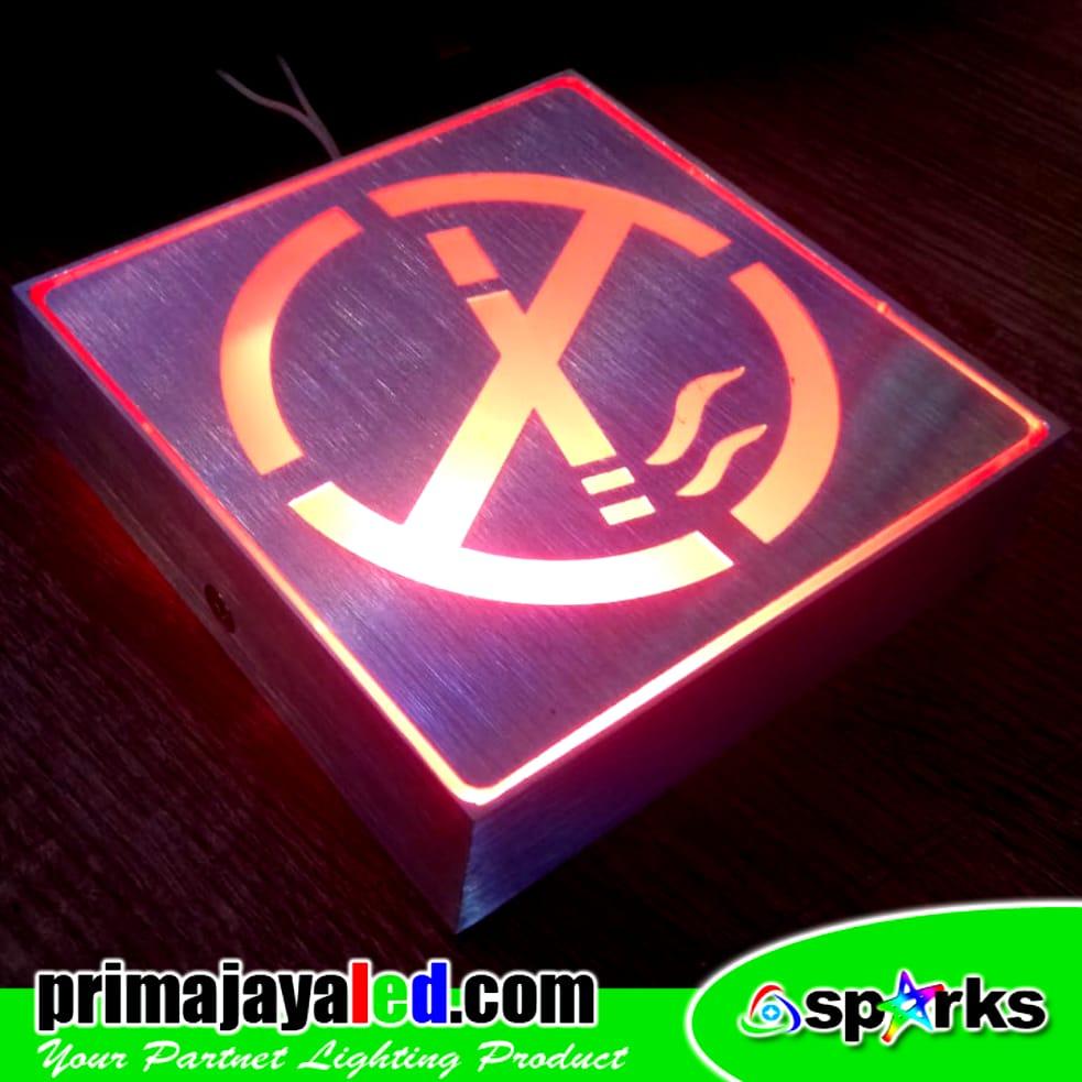Sign Aluminium 10cm No Smoking