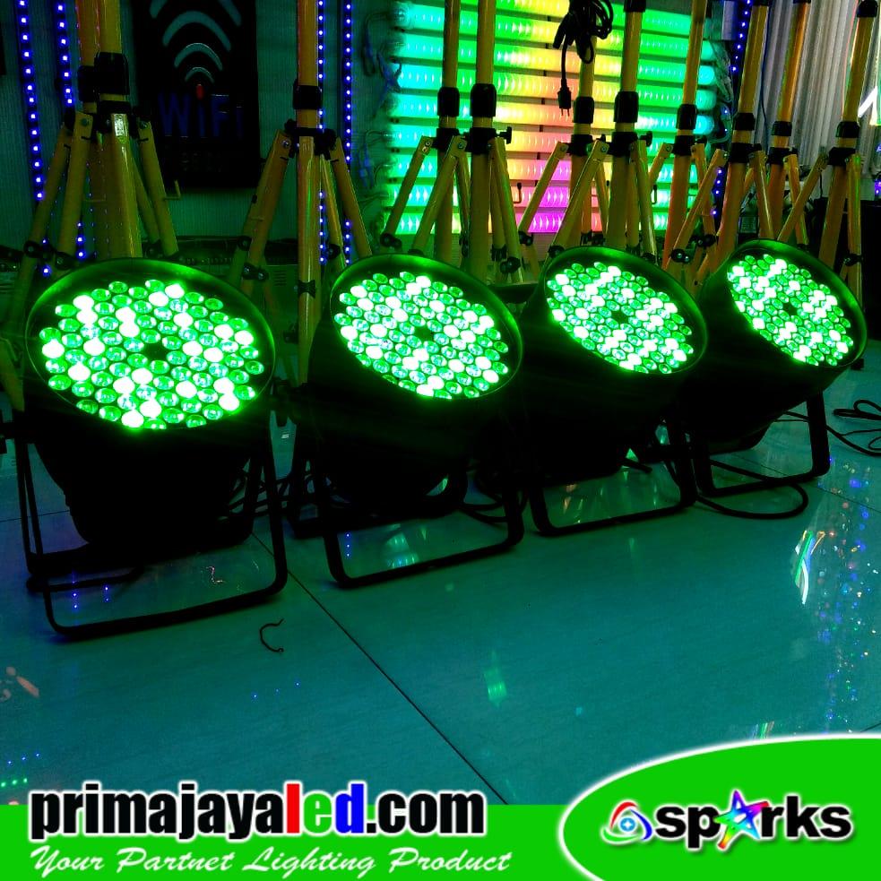 Paket Set 4 Par LED 84 x 3w RGBW