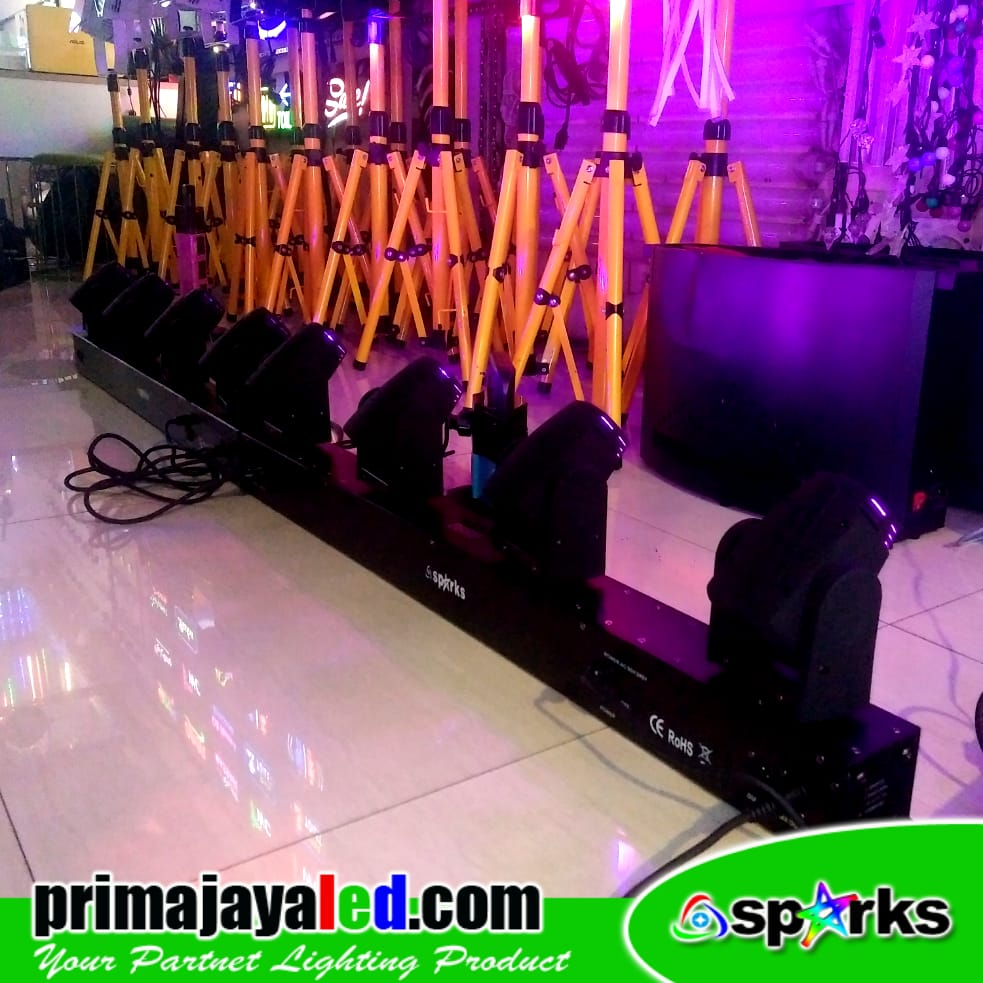 Paket Set Moving Head 4 Head