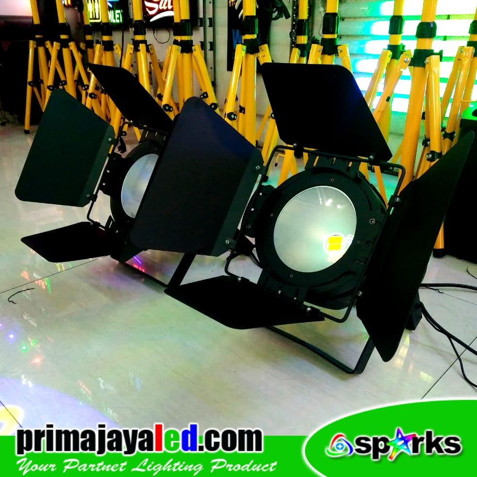 Set Freshnel LED 200W DMX 512