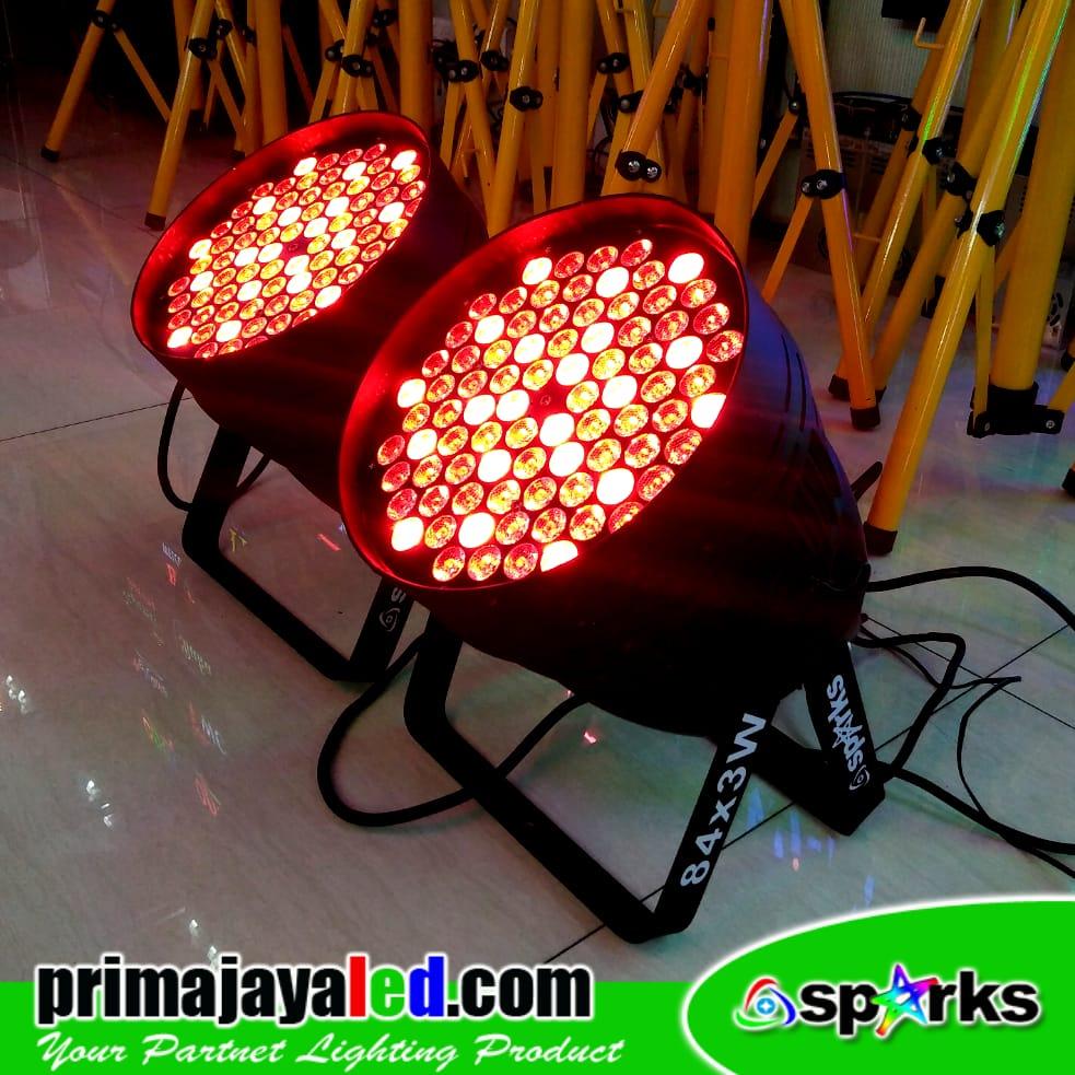 Set LED Par 84 x 3w RGBW