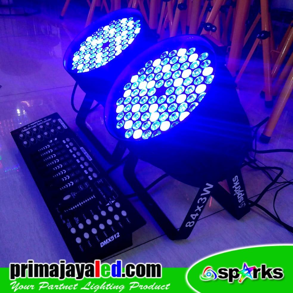 Set Par 84 LED DMX 512