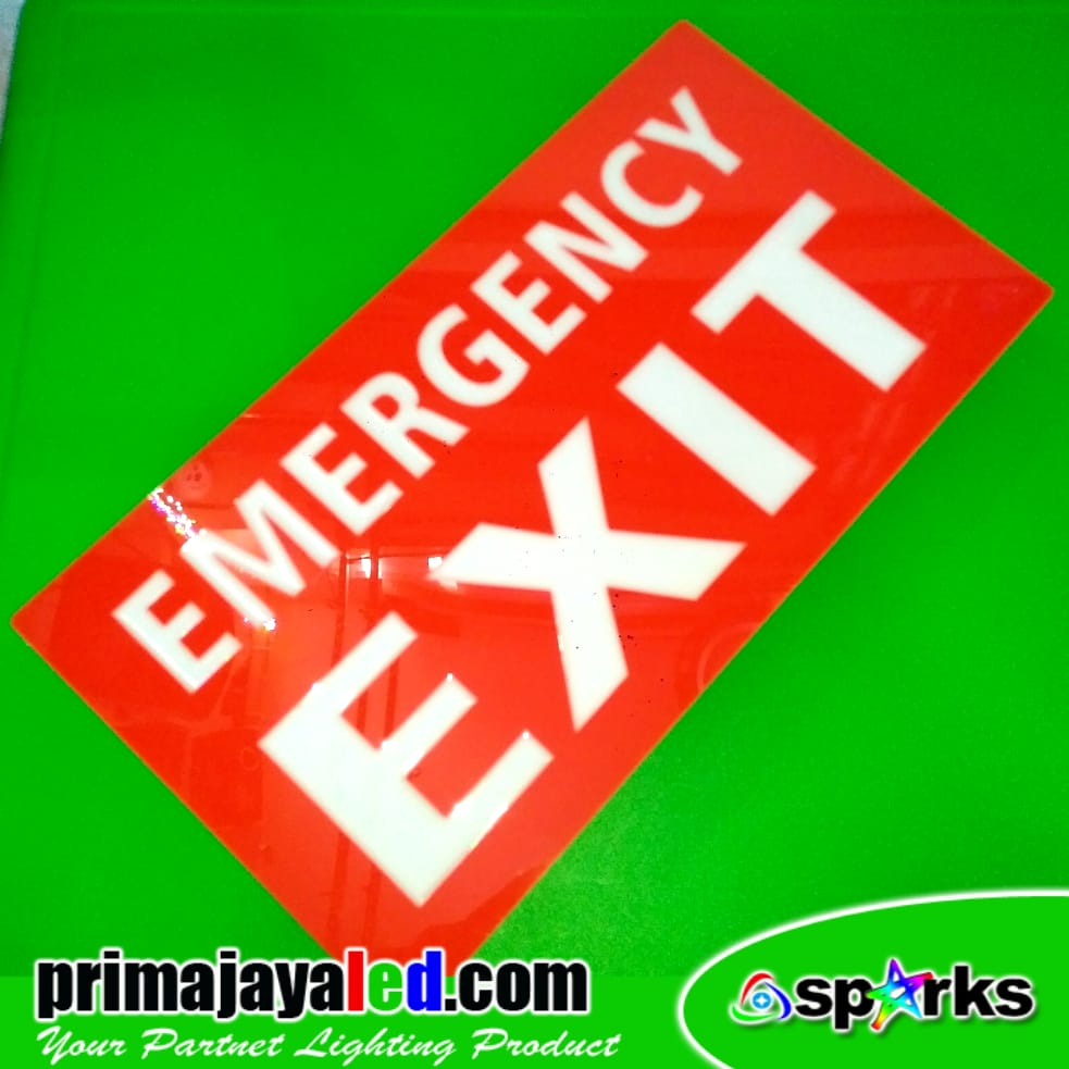 LED Lampu Sign Emergency Exit