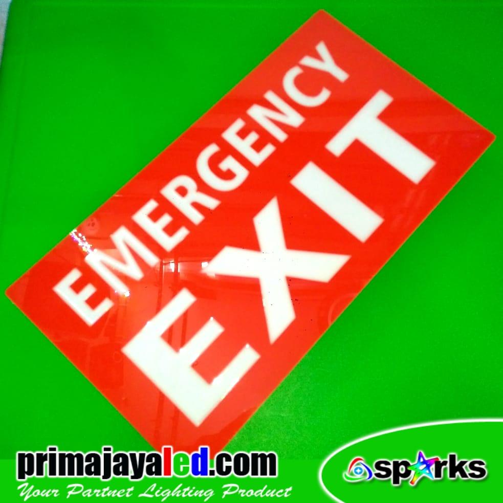 LED Lampu Sign Emergency Exit