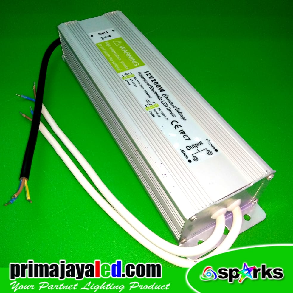 Power Supply DC 12 V 16.6 A Waterproof