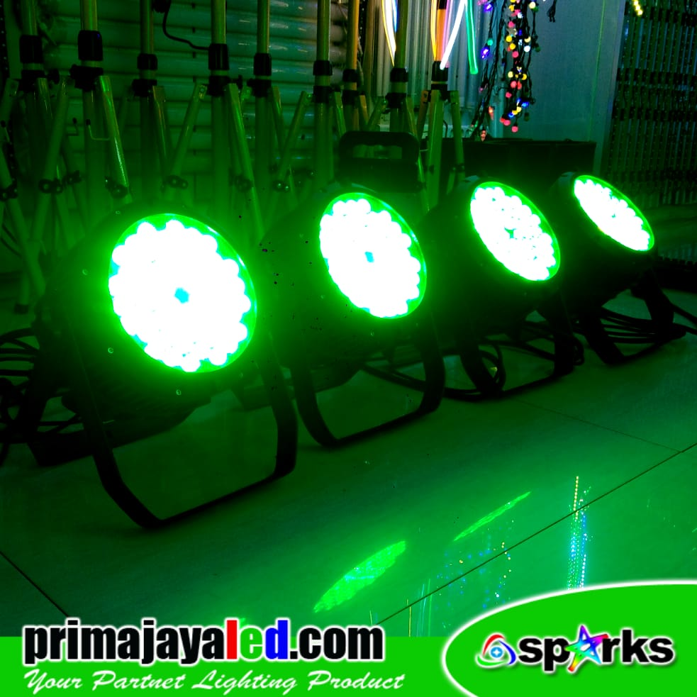 Par 54 LED 3in1 RGB Outdoor