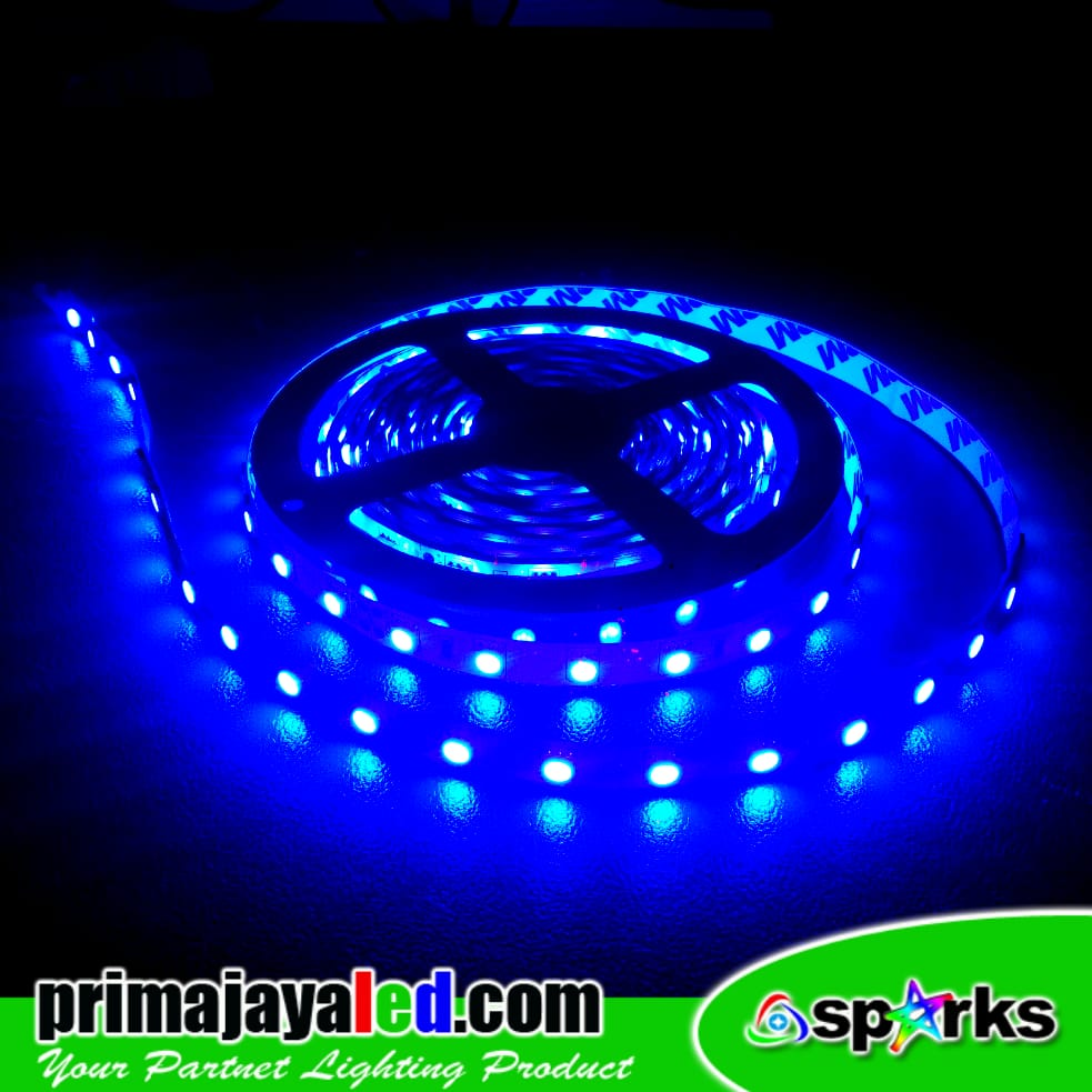 LED Strip DC 24 Volt IP33 Blue