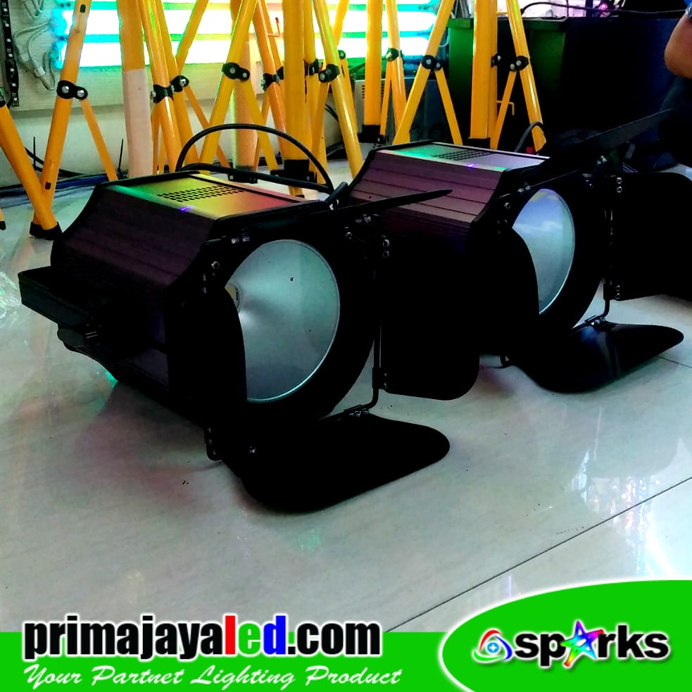 Set Double Fresnel 200 Watt 2in1 Spark