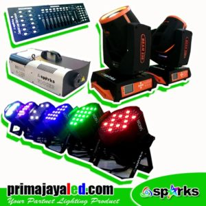 Paket Mini Stage Komplit DMX Basic