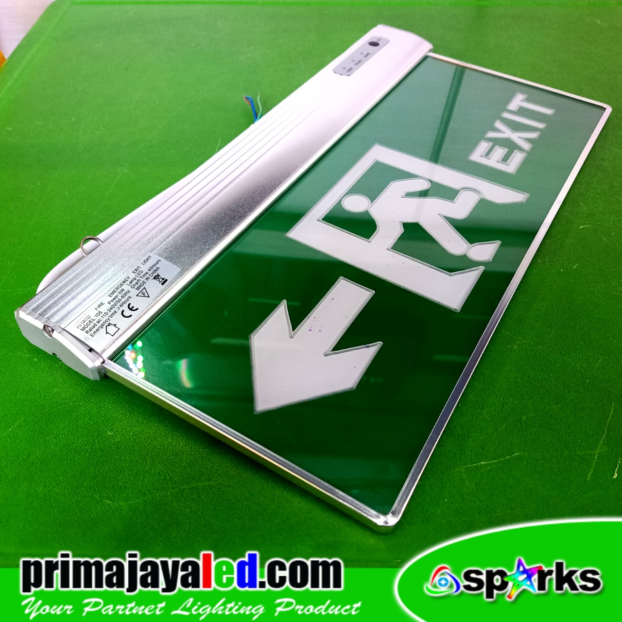 Lampu Exit emergency LED Arah