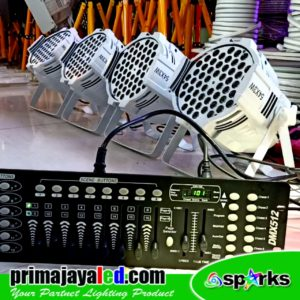 Set Weeding LED Par 54 Putih DMX 512