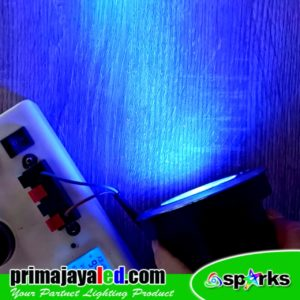 Lampu LED Tanam Uplight 3 Watt Biru