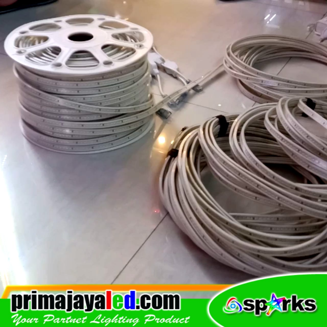 Flexibe LED Strip 220V Putih 6000K