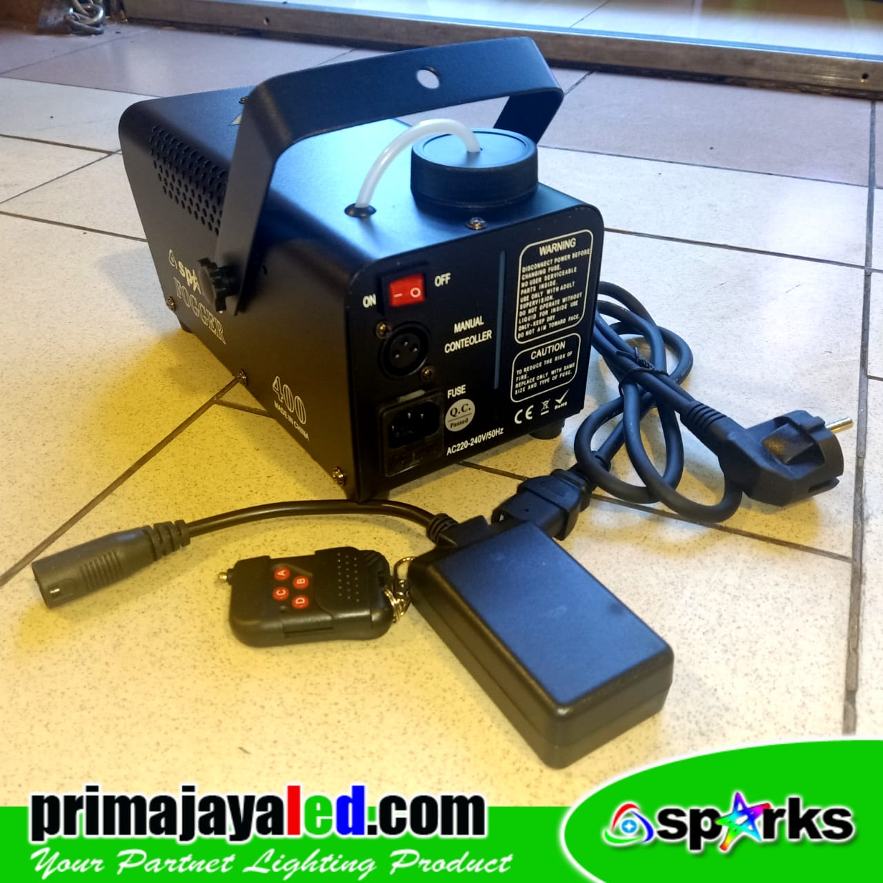 Mesin Smoke 400 Watt Remote